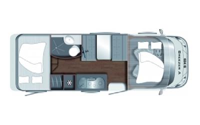 Wohnmobile für 4-6 Personen Vermietung
